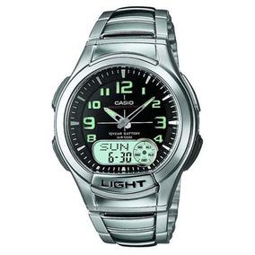 4f4091870f8 Relógio Casio Masculino Analógico E Digital Aq 164wd 1av - Relógios ...