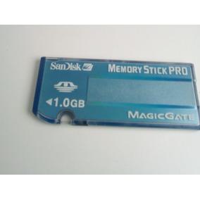 Cartão De Memória Sandisk Memory Stick Pro Magicgate 1.0gb
