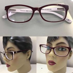 Oculos De Grau Gucci Feminino Vermelho - Óculos no Mercado Livre Brasil 73e6740490