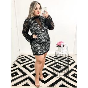 Vestidos Renda Plus Size/ A Moda Certa!!