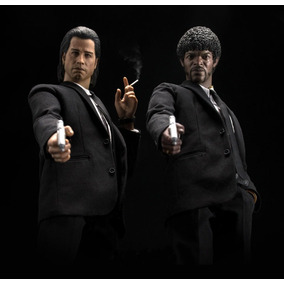 Pulp Fiction - Vincent E Jules- Pack 1/6 (n Hot Toys)