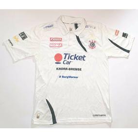 Camisa Pólo Corinthians Roberval Andrade Promocional Rara 5a1b6ef903d04