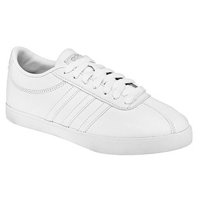 1220bf1d299 Dtt Tenis adidas Casual Courtset Mujer Sint Blanco W40588