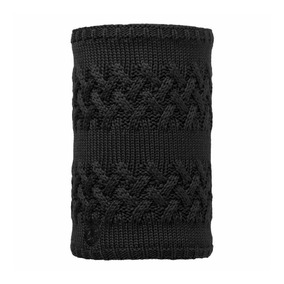 Buff Bufanda Knitted & Polar Neckwarmer Savva Black
