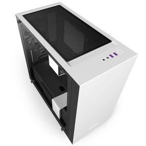 Caja Micro Atx Nzxt H400i Blanco - Negro