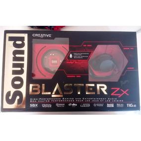 Tarjeta Sonido Creative Sound Blaster Zx