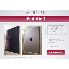 Ipad Air 2 64gb Semi-novo