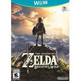 Fisico The Legend Of Zelda Breath Of The Wild Nintendo Wii U