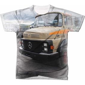 Camisa Camiseta Caminhão Mercedes-benz 1318 f1c09837c5c3e