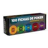 Set Fichas Poker 11.5 Grs Con 100 Piezas *