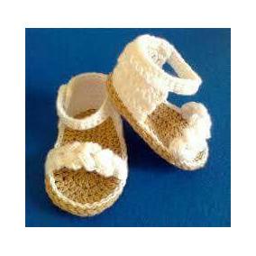 Y Crochet Bebe Mercado Ropa Tejidas 54a3jrl En Accesorios Libre Ojotas 1JcFlKT