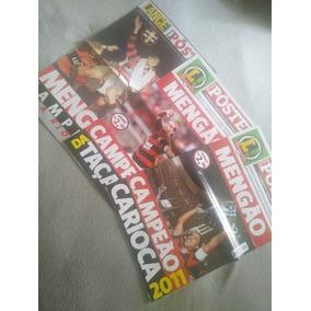 Kit 3 Posters Flamengo Campeonato Carioca