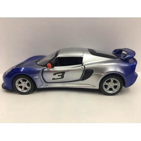 Miniatura Lótus Exige S Azul