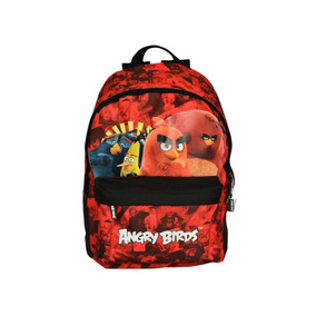 Mochila Angry Birds Santino Vermelha Abm803203