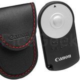 Control Remoto + Estuche Para Canon Cámaras Dslr Foto Video