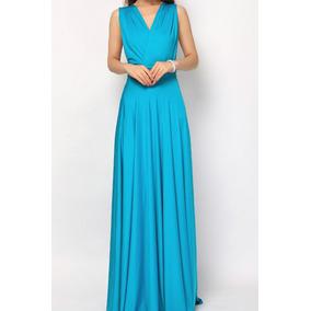 f601d0327 Vestidos De 15 A Os Verde Agua - Ropa, Bolsas y Calzado Azul acero ...