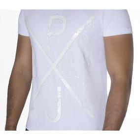 Camisa Blusa Branca Da Pit Bul Jeans Original 27870