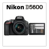 Nikon Profesional Dslr D5600 24mp Lente 18-55mm - Inteldeals