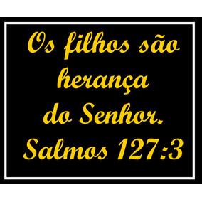 Camiseta Com Frases Salmos Artesanato No Mercado Livre Brasil