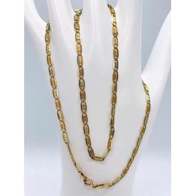 Hermosa Cadena Para Dama En Oro Florentino 10k Y 3.2 Gr