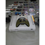 Xbox 360 Con 25 Juegos Y Dos Controles.