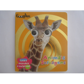 Livro Infantil Animais Selvagens