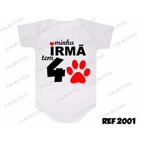 Body Com Frases De Irmaos Bodies De Bebê No Mercado Livre Brasil