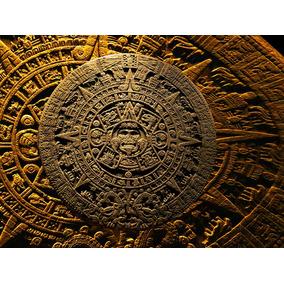 Cuadro Decorativo Calendario Azteca En Mercado Libre México