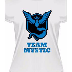 bc4694f882f Camiseta Baby Look Mystic Team Pokémon Go