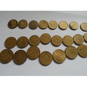 Moedas Antigas De 10 Centavos Variadas Datas 110 Unidades
