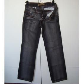 Pantalon De Jean Mujer Gris Oscuro Talle 40 Marca Sco Jeans 6da5f6e15051