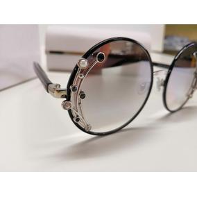 0fc1b804a Óculos De Sol Jimmy Choo Gema/s Jinic Espelhado E Cromado