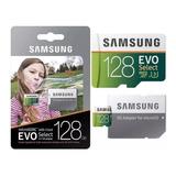 Micro Sd Xc 128gb Samsung Evo Select 4k U3 100mb/s + Rapida