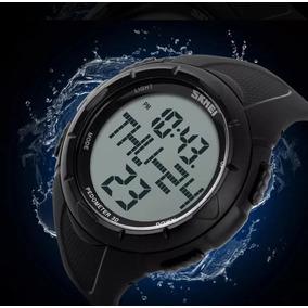 Skmei 1122 Relógio-original De Pulso Led Esportivo Top Preto