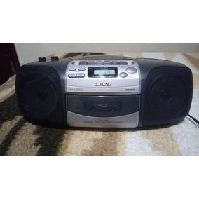 Radio Portatil Aiwa Ed20 Com Toca Fita