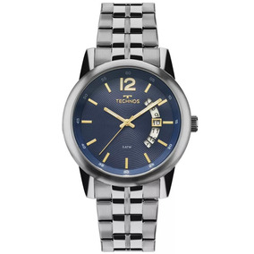 7896b5cf67e87 Relógio Technos Masculino Fundo Azul - Relógios De Pulso no Mercado ...