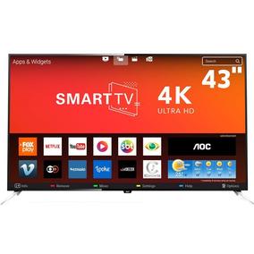 Smarttv 43 4k Aoc Le43u7970 Miracast App Gallery Netflix
