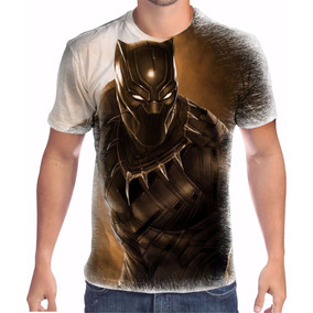4fb6565061 Camiseta Pantera Negra - Camisetas Manga Curta para Masculino no ...
