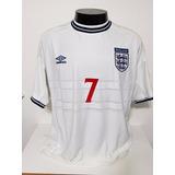 Camisa Inglaterra Euro 1988 - Camisas de Futebol no Mercado Livre Brasil adbe19b1de2e0