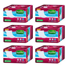 Caja De Depend® Predoblado 6 Paquetes
