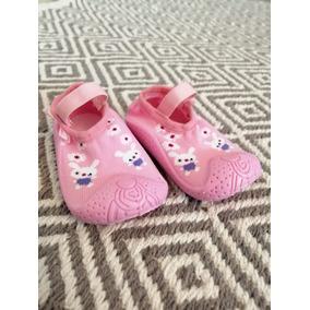 Calcetín Antiderrapante Zapatos Zuela De Goma Interior Bebe