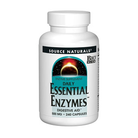 Source Naturals Essential Enzymes 500mg Bio-aligned Multiple