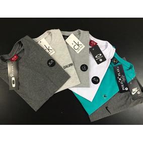Kit 10 Camisetas Camisas Masculina Atacado Baratas Blusas 3e40def9073