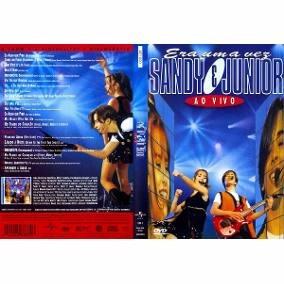 Dvd Sandy & Junior - Ao Vivo-era Uma Vez - Lacrado-raríssimo