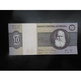Nota Cédula Nacional 10 Dez Cruzeiros 1979 Fe Ler Abaixo