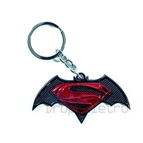 Chaveiro Batman Vs Superman De Metal Dc Comics Hq Filme