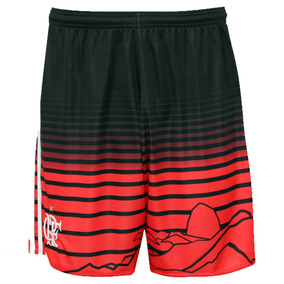 Calção adidas Flamengo Uniforme 3 Original Tam P - Promoção 468d36fdf26a8
