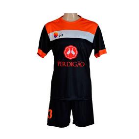 Fardamento De Futebol Personalizado. 10 Kits