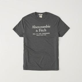 Abercrombie Fitch Camiseta Masculina Cinza - Calçados 5d723b9cf042b