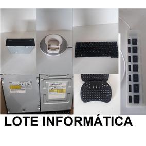 Lote Informática Para Retirada De Peças Lixo Eletrônico